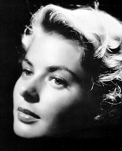 Beauty with Balls; an appreciation of Ingrid Bergman