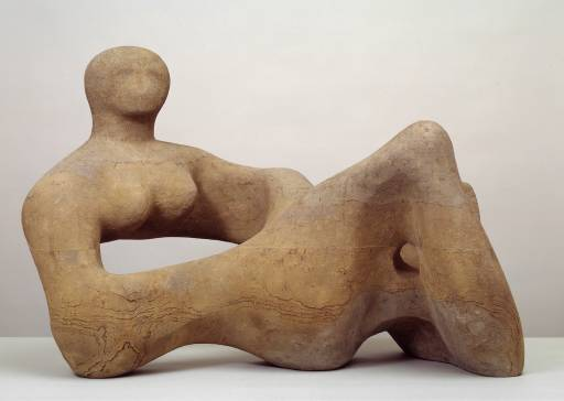 Henry Moore; as edgy as a Yorkshire outcrop, as soft as rain.